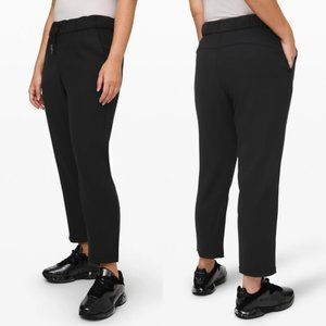 """NWT Lululemon On The Fly Pant 7/8 Pant Woven 27"""""""